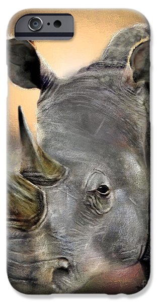 The Inevitable Collision-And So I Wait iPhone Case by Reggie Duffie