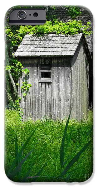 Original Photography iPhone Cases - The Ivy League iPhone Case by Colleen Kammerer