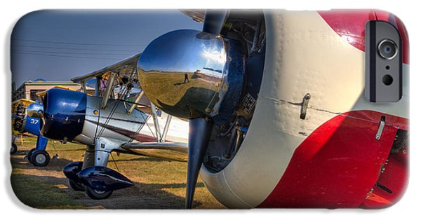 Louisiana iPhone Cases - The Jennings Stearman Fly-In iPhone Case by Tim Stanley