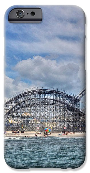 The Jersey Shore iPhone Case by Lori Deiter