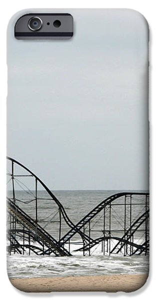 The JetStar Rollercoaster In Seaside Heights NJ iPhone Case by Living Color Photography Lorraine Lynch
