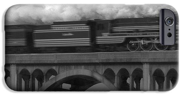 Rail Digital Art iPhone Cases - The John Wilks iPhone Case by Mike McGlothlen