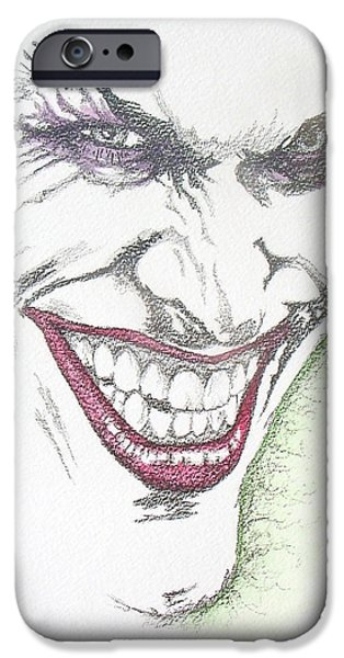 The Joker iPhone Case by Conor OBrien