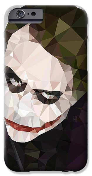 Detectives iPhone Cases - The Joker iPhone Case by Daniel Hapi