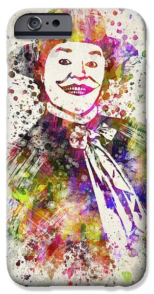 Mad iPhone Cases - The Joker - Jack Nicholson iPhone Case by Aged Pixel