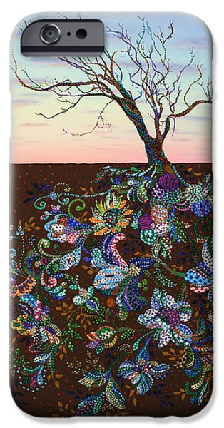 Roots iPhone Cases - The Journey iPhone Case by James W Johnson