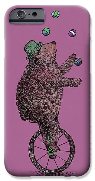 Jugglers iPhone Cases - The Juggler iPhone Case by Eric Fan