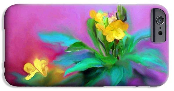 Small iPhone Cases - The Kanakaambaram Flower iPhone Case by Usha Shantharam