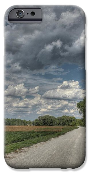 The Katy Trail iPhone Case by Jane Linders