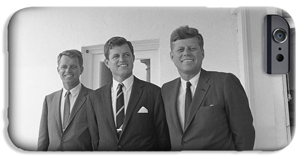Democrat iPhone Cases - The Kennedy Brothers iPhone Case by War Is Hell Store