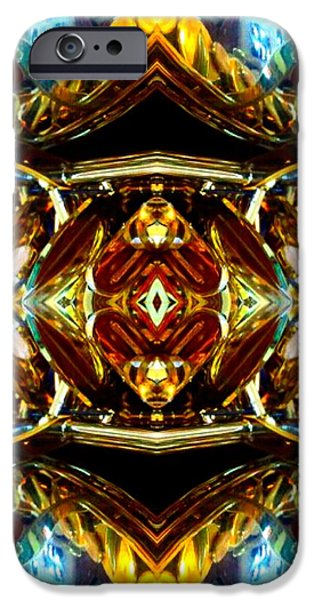 Socal Mixed Media iPhone Cases - The Kings Crown iPhone Case by Romy Galicia