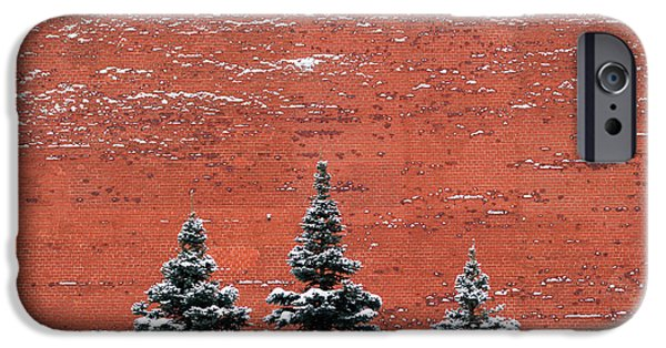 Wintertime iPhone Cases - The Kremlin Wall - Featured 3 iPhone Case by Alexander Senin
