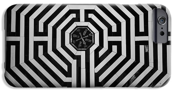 Figure iPhone Cases - The Labyrinth iPhone Case by Aidan Moran