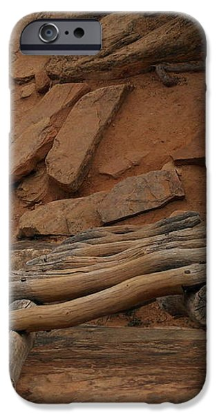 THE LADDER DOWN INTO SAPUPU CANYON iPhone Case by Jeff  Swan