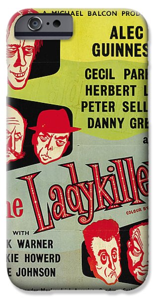 1950s Movies iPhone Cases - The Ladykillers - 1955 iPhone Case by Nomad Art And  Design