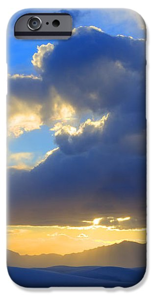 The Land Of Enchantment iPhone Case by Bob Christopher