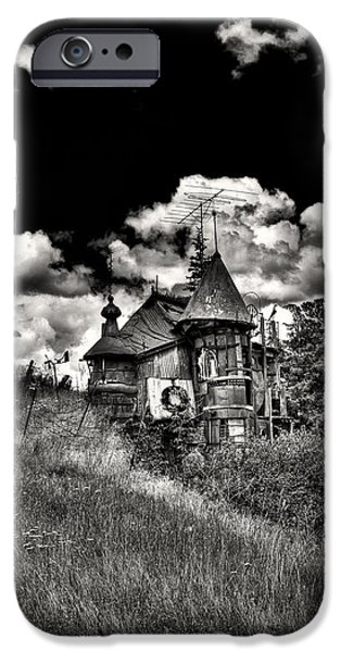 Monotone iPhone Cases - The Land of Oz is in the Palouse iPhone Case by David Patterson