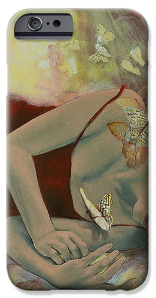 The last dream before dawn iPhone Case by Dorina  Costras