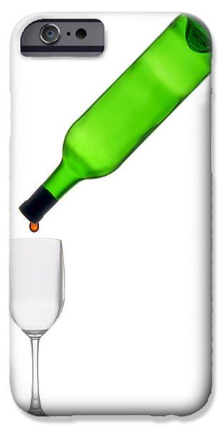 Empty iPhone Cases - The Last Drop iPhone Case by Olivier Le Queinec