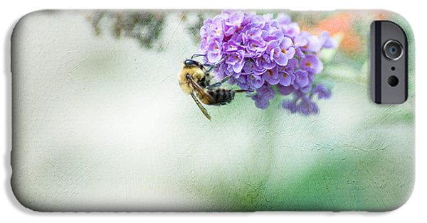 Bee iPhone Cases - The Last Drop iPhone Case by Rebecca Cozart