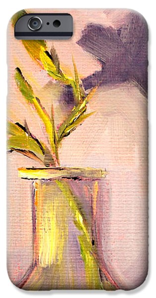 The Last Lily iPhone Case by Nancy Merkle