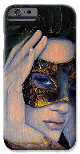 The Last Secret iPhone Case by Dorina  Costras