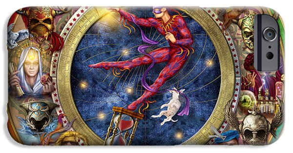 Gypsy Digital iPhone Cases - The Legacy of the Devine Tarot iPhone Case by Ciro Marchetti