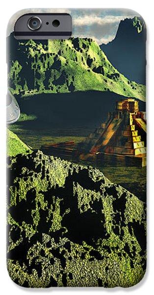 The Legendary South American Golden iPhone Case by Mark Stevenson