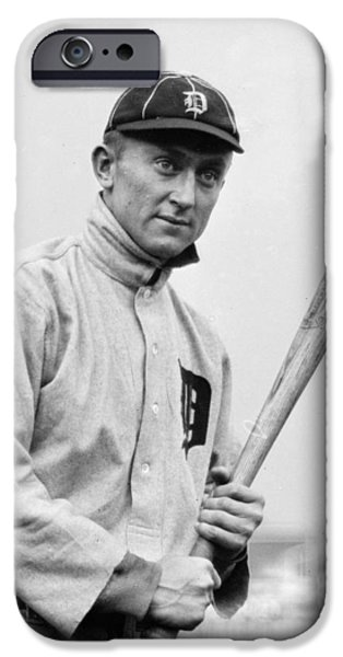 The Legendary Ty Cobb iPhone Case by Gianfranco Weiss