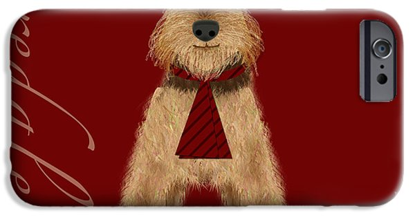 Animal Alphabet iPhone Cases - The Letter A iPhone Case by Valerie   Drake Lesiak