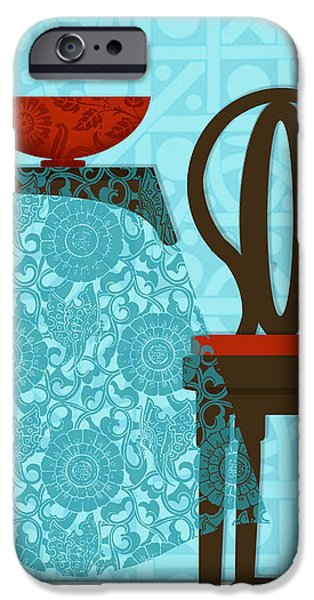 Interior Still Life iPhone Cases - The letter T iPhone Case by Valerie   Drake Lesiak