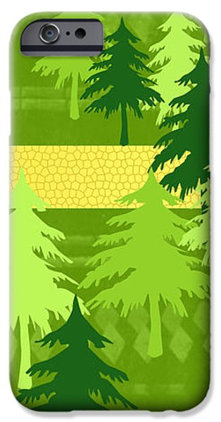 Park Scene Mixed Media iPhone Cases - The letter Y iPhone Case by Valerie   Drake Lesiak