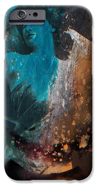 Mix Medium iPhone Cases - The Libra Room  iPhone Case by Jerry Cordeiro