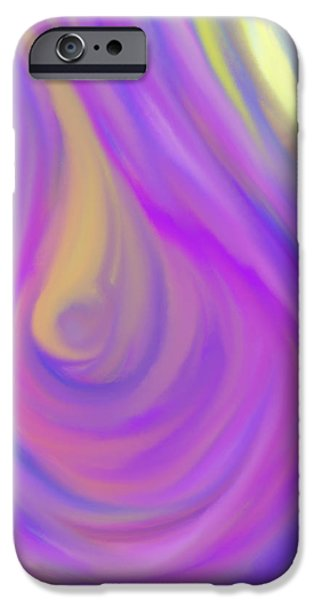 The Light of the Feminine Ray iPhone Case by Daina White