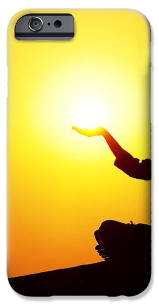 The Light iPhone Case by Tim Gainey