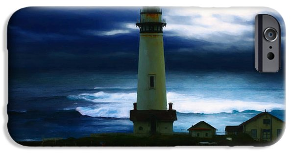 Lighthouse Digital iPhone Cases - The Lighthouse iPhone Case by Cinema Photography
