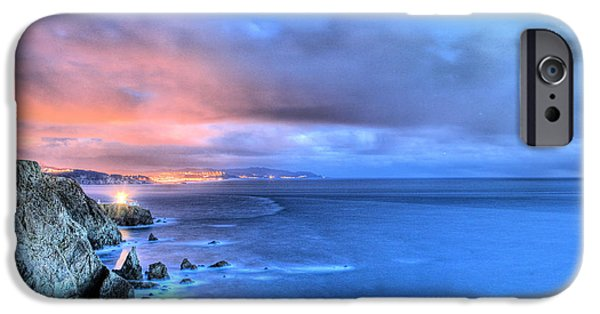 Recently Sold -  - Sausalito iPhone Cases - The Lighthouse iPhone Case by JC Findley