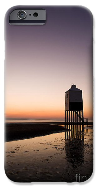 Nineteenth iPhone Cases - The Lighthouse on Legs iPhone Case by Anne Gilbert