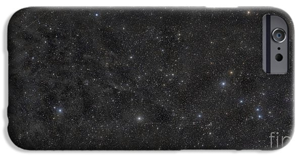 Ursa Minor iPhone Cases - The Little Dipper, Part Of The Ursa iPhone Case by Rogelio Bernal Andreo