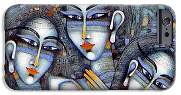 Albena iPhone Cases - the little mermaids of Andersen iPhone Case by Albena Vatcheva