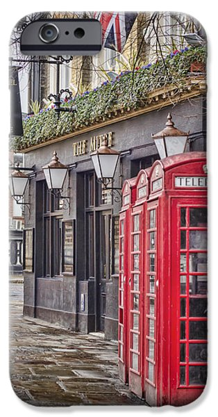 Historical Buildings iPhone Cases - The Local iPhone Case by Heather Applegate