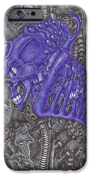 Bio-mechanical iPhone Cases - The Locust iPhone Case by RJ Smuin