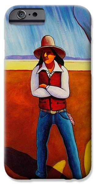The Logic of Solitude iPhone Case by Joe  Triano
