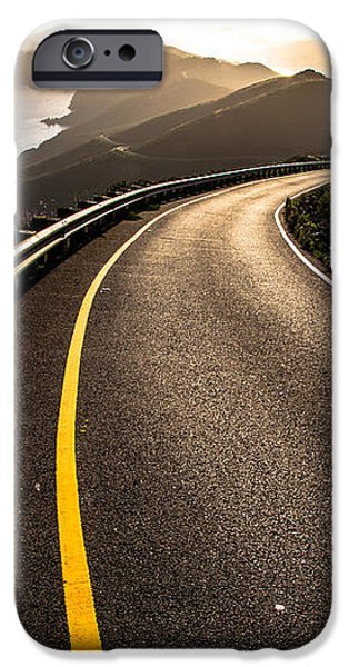 The Long and Winding Road iPhone Case by John Daly