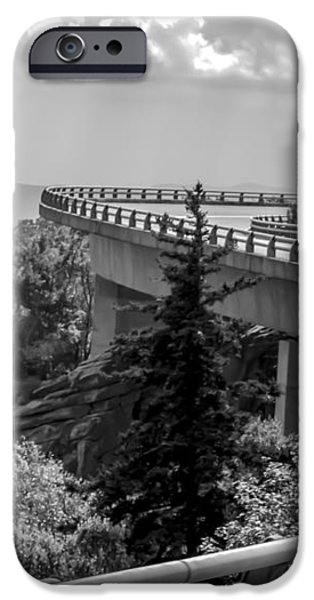 The LONG and WINDING ROAD iPhone Case by KAREN WILES