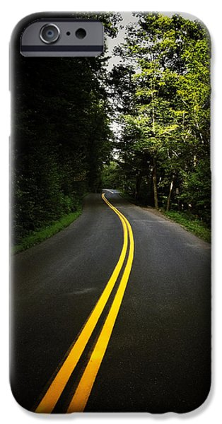 The Long and Winding Road iPhone Case by Natasha Marco