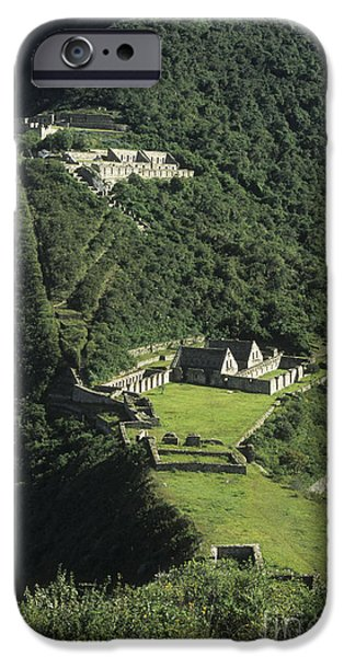 Best Sellers -  - Historic Site iPhone Cases - The Lost City of Choquequirao iPhone Case by James Brunker