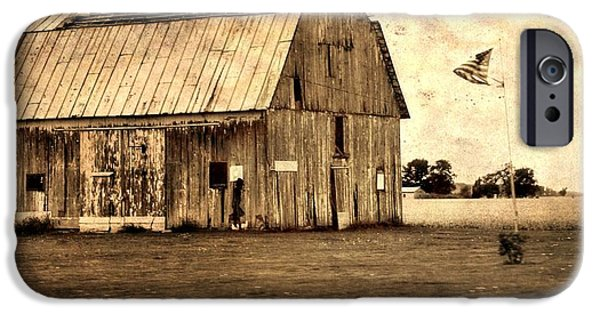 Agriculture Mixed Media iPhone Cases - The Lost Generation iPhone Case by Dan Sproul