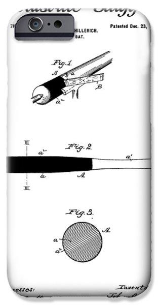 Bat iPhone Cases - The Louisville Slugger iPhone Case by Dan Sproul