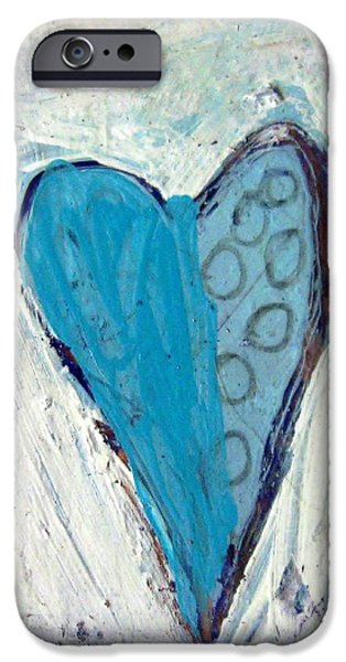 Symbolism Of The Hand iPhone Cases - The Love Inside iPhone Case by Venus